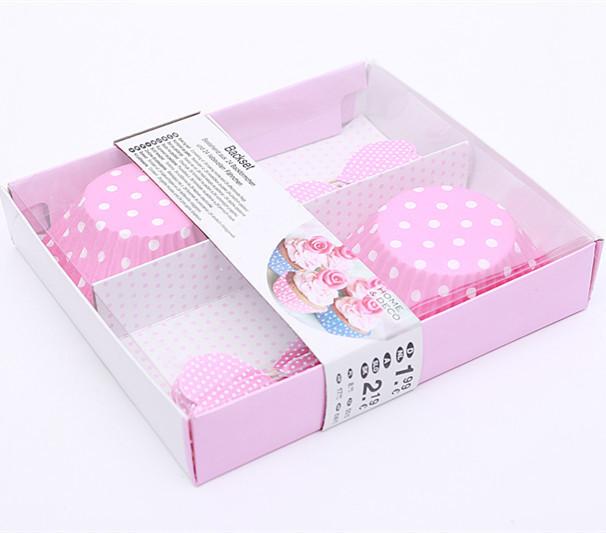 一次性精美礼盒纸制蛋糕杯与牙签纸
