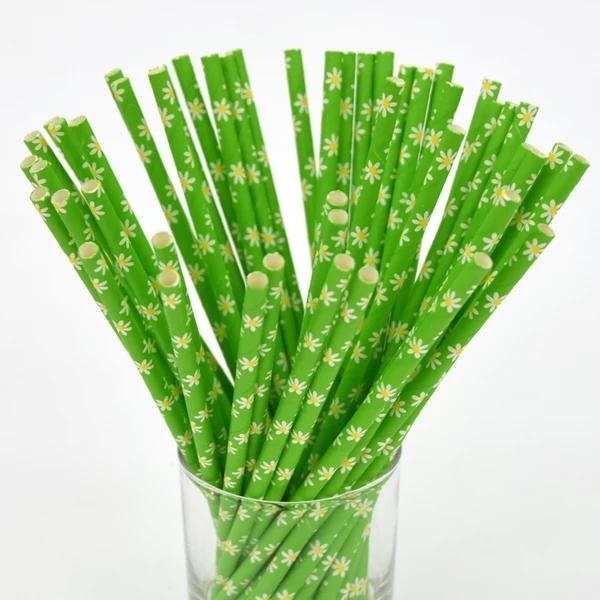 安全环保食品纸  绿色定制 一次性纸质吸管