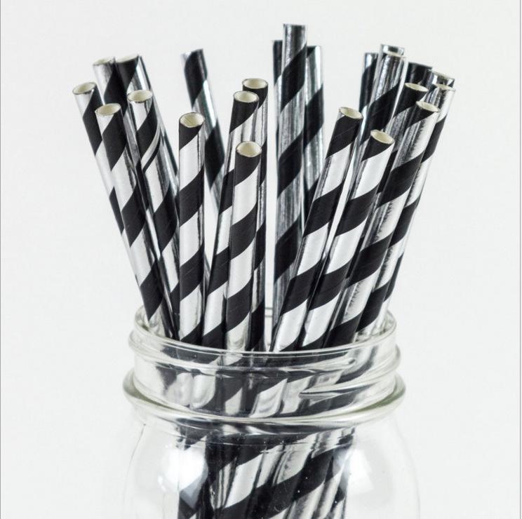 水性油墨 环保材质  厂家定制一次性纸吸管