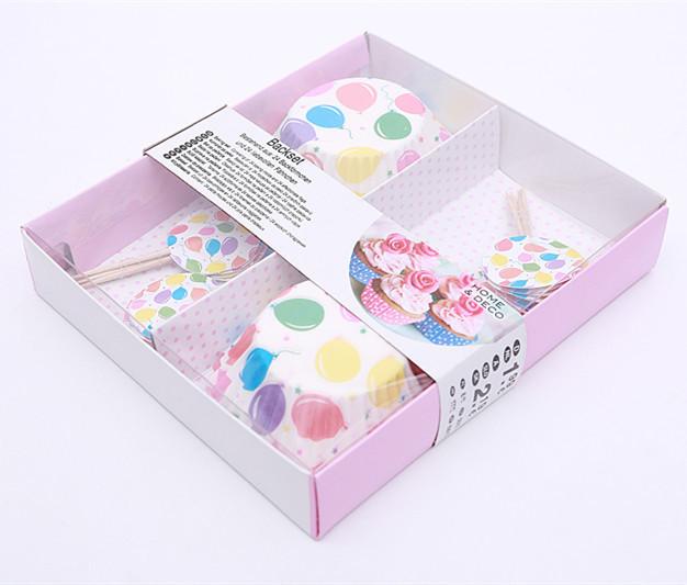精美礼盒装 蛋糕杯+牙签纸