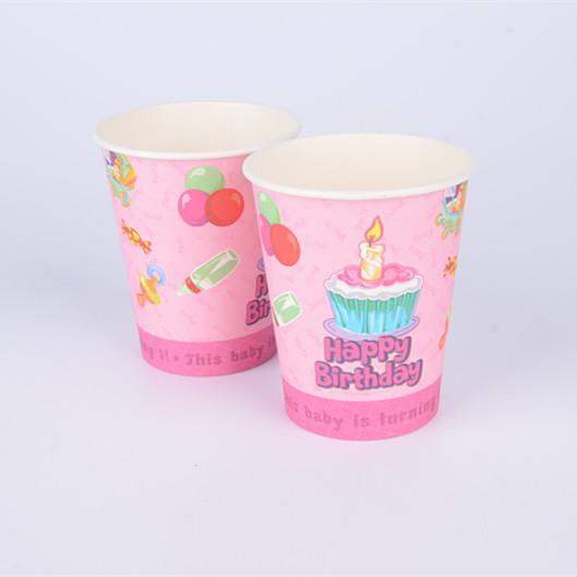 厂家定制-一次性杯子纸杯商用饮料茶咖啡水杯家用隔热加厚
